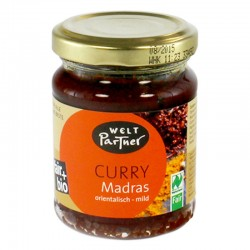 Pâte de curry Madras BIO